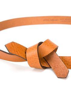 Isabel Marant 'laryn' Knot Belt - The Shop At Bluebird - Farfetch.com