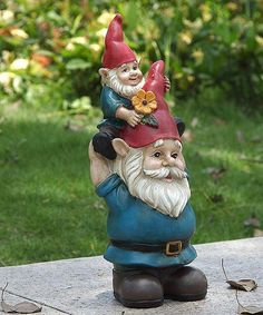 Oakvalleydecor.com Papa & Child Garden Gnomes | zulily
