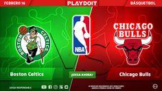 ¡Hoy es jueves de NBA: Boston Celtics vs Chicago Bulls! 🏀 ¿Aún no tienes planes para hoy? Regístrate ya en Playdoit y comienza a ganar desde hoy 😉