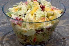 Sałatka z sosem majonezowo - czosnkowym - Kuchnia na Wypasie Potato Salad, Cabbage, Potatoes, Vegetables, Ethnic Recipes, Food, Potato, Essen, Cabbages