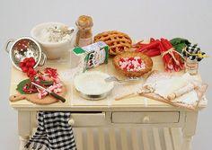 Rhubarb pie table 1 | Flickr: partage de photos!