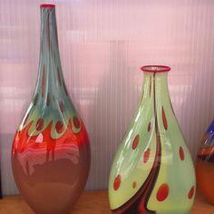 Maras Glass work at the Fort Worth Main Street Arts Festival