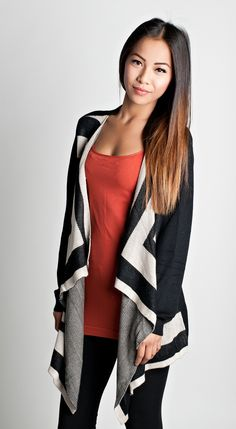Be in style this fall with this Angled Out Cardigan, $37.50
