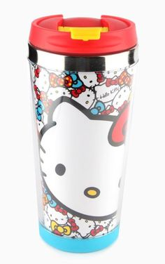 Bright and cheerful like #HelloKitty herself! Super smart beverage bottle.