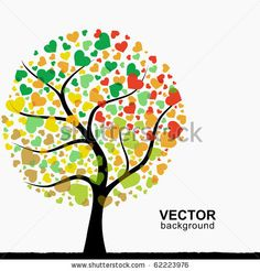 Stock Images similar to ID 67593478 - abstract heart tree