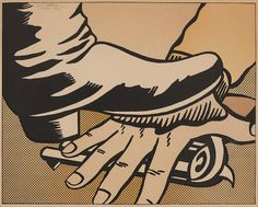 Roy Lichtenstein,  Foot and Hand (C. II.4), 1964  PRINTS AND MULTIPLES 24 Oct 2017, 10:00 PDT LOS ANGELES