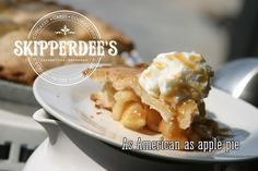 Homemade Apple Pie at Skipperdees in Point Lookout