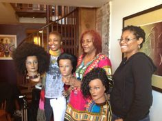 Students show off their #Latchhook #NaturalHairStyles.  www.everettes.com