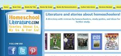 Homeschool Literature features over a hundred great books about homeschoolers   ♣  14.6.13