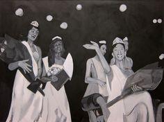Raél Jero Salley #blackart #history #painting
