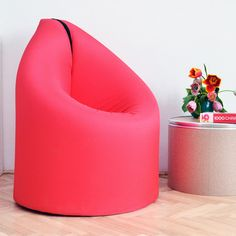 Paq Chair A Bed And Chair Love Affair Paq Chair Coral Pink, $399, now featured on Fab.