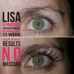 How did Lisa get such awesome long, full, and dark lashes without extensions or mascara? Two words: Lash Boost . Best Lashes, Fake Lashes, Long Lashes, Applying False Eyelashes, Applying Eye Makeup, Mascara Tips, How To Apply Mascara, Eyelash Extensions Aftercare, Rodan Fields Lash Boost