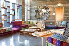 Eco-Groovy Hotel, Healdsburg, California | boutique-homes.com