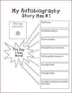 This autobiography unit is a great end of the year activity that will be a keepsake for parents many years to come!  Have the students take the par...