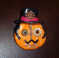 Steampunk Jack Pin by artsdaughter on Etsy,