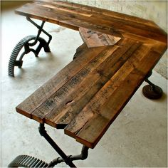Amazingly cool reclaimed furniture.