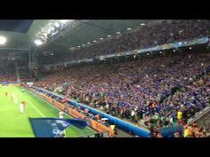 Iceland fans tribal chant Euro 2016
