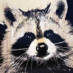 "Saatchi Art Artist Erick Laubach; Painting, ""Midnight Marauder 2015"" #art"