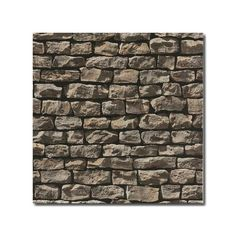 Realistic Stone Brick Wall Effect Wallpaper - Pay no more than £7.50 postage