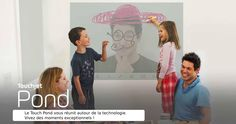 Transformez toute surface en une tablette interactive géante