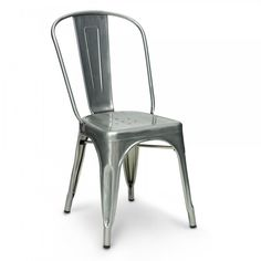 Xavier Pauchard Galvanised Industrial Raw Metal Side Chair £75