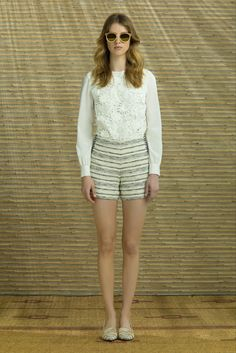 Tory Burch Resort 2014 Fashion Show Collection