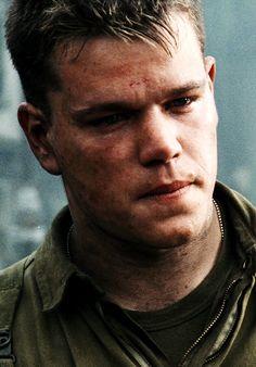 Matt Damon in Saving Private Ryan