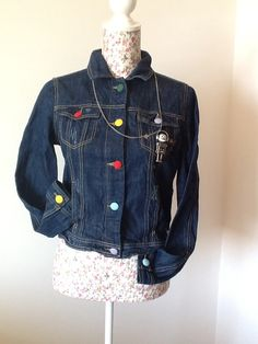 Robot jeans jacket