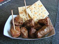 Chislic is a meat appetizer popular in bars throughout South Dakota and in parts of North Dakota. Get too far away from the Dakotas, and f...
