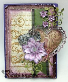 Heartfelt Creations   Love Heart
