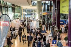 """Fotos aus der Stadthalle Graz Auch dieses Jahr bot die Business Messe zusammen mit dem WKO Unternehmertag in der #Stadthalle Graz Unternehmerinnen und Unternehmern einen entscheidenden Wissensvorsprung für das tägliche #Business der steirischen #Wirtschaft – da waren sich die Veranstalter sicher. Mit Vorträgen, Branchentreffs, der Verleihung des """"Follow Me Award"""" und Joschka Fischer wurde ein breitgefächertes Programm geboten. #BusinessMesse #WKOUnternehmertag #steirischeWirtschaft"""