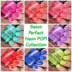Salon Perfect Summer 2016 Neon POP! Collection | Cosmetic Sanctuary