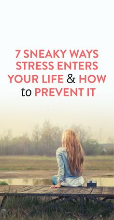 how to avoid and relieve stress #health