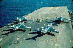 Grumman Aircraft, Navy Aircraft, Essex Class, Navy Carriers, Battle Ships, Flight Deck, Korean War, Aircraft Carrier, Great Love