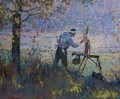 The Landscape Painter by John Michael Carter