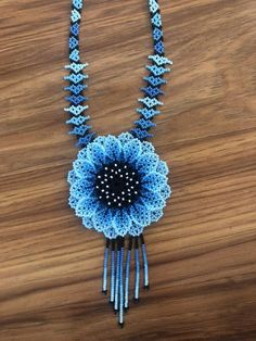 Seed Bead Necklace, Flower Necklace, Seed Beads, Crochet Necklace, Beaded Necklace, Bead Jewellery, Beaded Jewelry, Beaded Flowers, Beautiful Necklaces