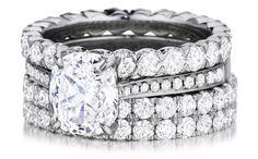 Henri Daussi diamond wedding/engagement ring