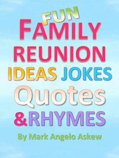 Fun Family Reunion Ideas eBook
