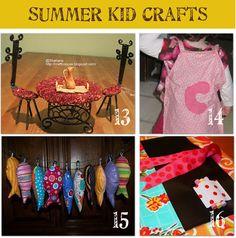 Summer Kid Crafts!