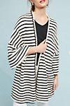 I love this Striped Knit Kimono! $120