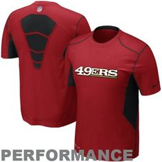 Nike San Francisco 49ers Hypercool Top Speed Performance T-Shirt