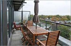 #RobertWatson #Loft, #Toronto Porch Swing, Outdoor Furniture, Outdoor Decor, Sun Lounger, Terrace, Toronto, Loft, Space, Home Decor