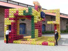 milk crate structure - Google Search