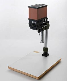 "Wojciech Wybieralski,  ""Crocus 4×4 KIT"", photography enlarger, produced by the Polish Optics Factory in Warsaw, 1977-1980, the designer's private collection, photo: Michał Korta"