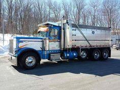 Peterbilt Big Rig Trucks, New Trucks, Custom Trucks, Lifted Trucks, Cool Trucks, Peterbilt Dump Trucks, Peterbilt 359, Truck Mechanic, Logging Equipment