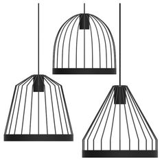 fferrone Bird Cage Pendant ($825) ❤ liked on Polyvore featuring home, lighting, ceiling lights, modern lamps, modern ceiling lamp, cylinder lamp, modern lighting and modern pendant light