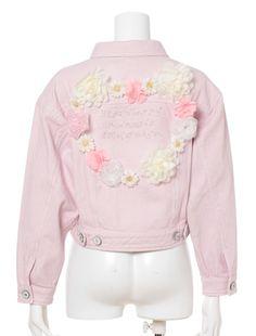 Swankiss embellished jacket DIY