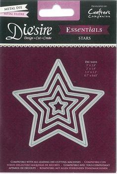 Die`sire Essentials Dies - Stars