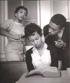 Eve Arnold  School for black civil rights activists; young girl being trained to not react to smoke blown in her face  Virginia, 1960