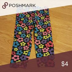 Toddler pants size 2t Floral toddler pants size 2t (blue, pink [light, hot] yellow, purple, black) Bottoms Casual